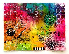 by DeeDee Catron: April Art Journaling