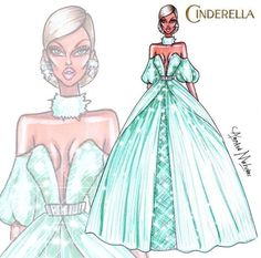 Cinderella (Fashion by ArmandMehidri @Facebook) #Cinderella