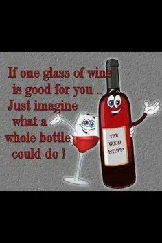 Wine+funny+sayings. The good stuff Wine Jokes, Wine Meme, Wine Funnies, Funny Wine, Vodka Funny, One Glass Of Wine, Funny Quotes, Funny Memes, Funny Videos