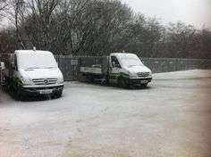 Darwen depot , has winter finally arrived ?