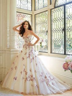 Sophia Tolli, colección de otoño 2014. | 30 Vestidos de novia que te darán ganas de casarte inmediatamente