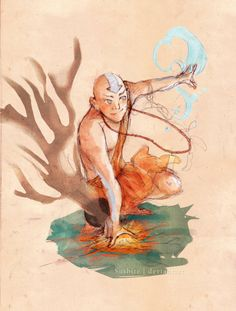 Avatar Aang by Galaxyspeaking on deviantART