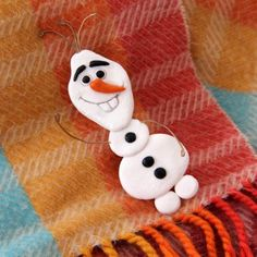 Olaf Snowman Pin
