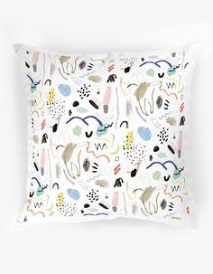 The Club of Odd Volumes - Diamond Dancer cushion Designed by Min Pin