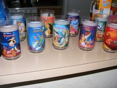 Collector Series Glass: A Walt Disney Classic, ALADDIN, BURGER KING (ONE IN A SERIES OF 8 GLASSES) by Burger King. $9.95. Burger King Disney Collectors Cup, ( Aladin)
