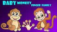 Five Monkeys finger family Nursery kids rhyme | Daddy finger where are your