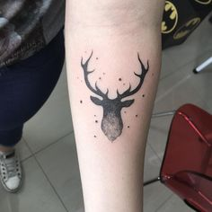 Tattoo uploaded by Tara Moose Tattoo, Deer Head Tattoo, Raven Tattoo, Head Tattoos, Badass Tattoos, Sleeve Tattoos, Fox Tattoos, Tree Tattoos, Tattoo Ink