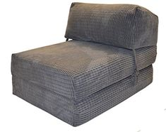 JAZZ CHAIRBED - CHARCOAL DA VINCI Deluxe Single Chair Bed futon