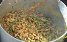salsa ai funghi porcini  #ricetta #recipe #ricettedisardegna #sardegna #sardinia