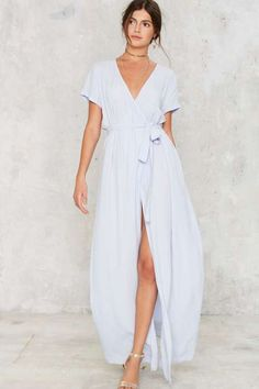 Wrapped Up in It Maxi Dress - Dresses
