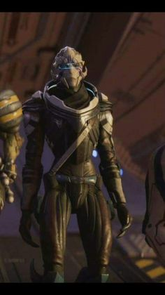 Our female Turian squadmate. I want a male turian, too.  But both is good. Romance both. Good times!