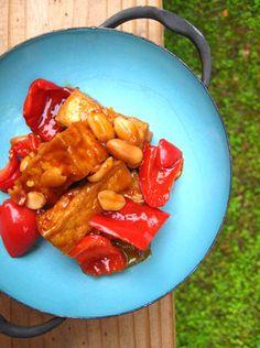 Kung Pao Tofu #vegan #healthy #recipe #tofu #yummy