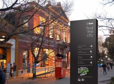 This is fantastic work. Must check out the link to see the whole system. Really beautifully done.  |  Buenos Aires Wayfinding Sistem by Bando , via Behance