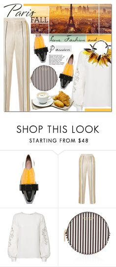 """I Love Paris In the Fall"" by barbarela11 ❤ liked on Polyvore featuring Marni, rag & bone, Oscar de la Renta and Henri Bendel"