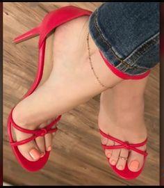 Strappy High Heels, Hot High Heels, Womens High Heels, Stiletto Heels, Stilettos, Beautiful High Heels, Gorgeous Feet, Sexy Zehen, Talons Sexy