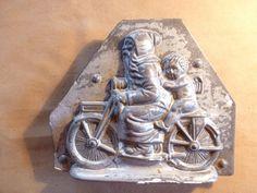 Anton Reiche,Dresden? Père Noël, moule à chocolat ancien, alt schocoladenform. in Art & Antiquités, Objets Antiques, Autres Objets Antiques   eBay