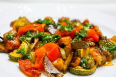 Roasted vegetables with mint and dill oil | Tera Solara