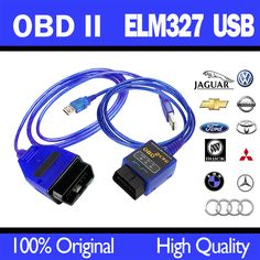 hot OBD2 / OBDII scanner elm327 vag com USB For Audi/ VW OBD 2 SCANNING Cable  elm 327 Diagnostic Tool easydiag free shipping #Affiliate