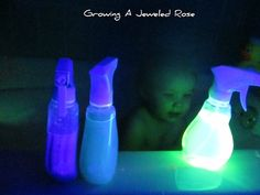 Growing A Jeweled Rose: Make Your Own GLOWING Bath Bubbles
