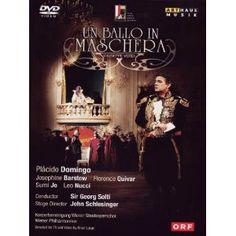 Verdi: Ballo In Maschera [DVD] [2011] [NTSC]: Amazon.co.uk: Plácido Domingo, Leo Nucci, Josephine Barstow, Florence Quivar, John Schlesinger: Film & TV