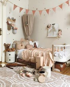 Grey and Blush Girls Bedroom by Velveteen Babies - the Conspiracy , How to Find Grey and Blush Girls Bedroom by Velveteen Babies Online In the event the room is small in dimension and don't have enough storage space, m. Baby Bedroom, Girls Bedroom, Bedroom Decor, Design Hall, Dreams Beds, Childrens Room Decor, Little Girl Rooms, Room Inspiration, Kids Room