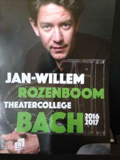 Theater college Bach. Jan-Willem Rozenboom