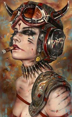 Artistas homenajean la legendaria obra de arte de la revista Heavy Metal   Mentes peligrosas