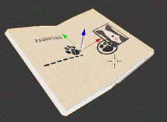 Work for digital game in 3D. Make using Blender.