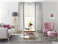 Unland Circle, Fensterideen, Vorhang, Gardinen und Sonnenschutz - curtains, contract fabrics, pleated blinds, roller blinds and more. Made in Germany