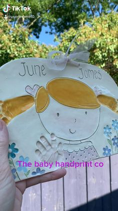 Little Gifts For Him, Custom Baby Gifts, Baby Keepsake, Kids Hands, Gifts For New Moms, Footprints, Baby Prints, Inspirational Gifts, Handmade Baby