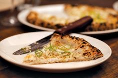 The pizza at Sotto - ANNE FISHBEIN