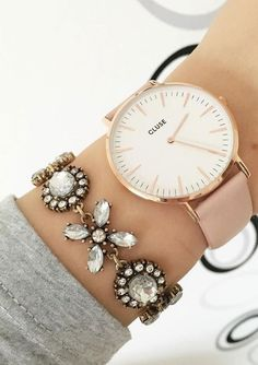 Jasmine Blossom Statement Bracelet #watches #bracelet #style #statementbracelet - 16,90  @happinessboutique.com