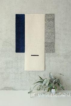 HUES wall carpets | Mae Engelgeer | image by Ben Lambers - studio Aandacht www.mae-engelgeer.nl