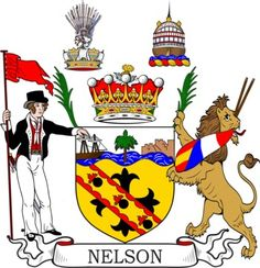 Nelson Family Crest and Coat of Arms