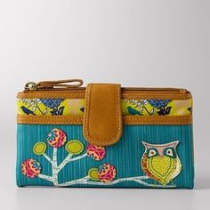 Love fossil, love owls. Wish they still had this wallet :(