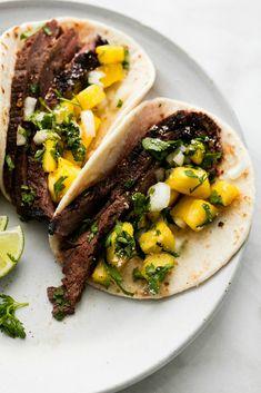 Jamaican Jerk Steak TacosDelish