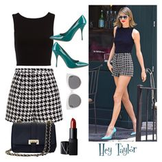 """""""Hey Taylor"""" by jaynelleroqz on Polyvore featuring Emma Cook, Blanc & Eclare, Aspinal of London, NARS Cosmetics and Miu Miu"""