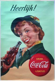 Anonymous - Heerlijk! Coca Cola Ijskoud - 1950 - W.B.