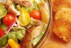 Pikáns csirkesaláta koktélparadicsommal | NOSALTY Salads, Tacos, Mexican, Meat, Chicken, Ethnic Recipes, Food, Essen, Meals