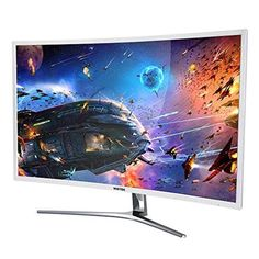 Brand: ViotekColor: WhiteFeatures: 1800R Curvature 1080p FullHD resolution with VGA, DVI, and HDMI inputs 20,000:1...