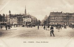 place Saint-Michel - Paris 5e/6e