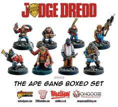 The Ape Gang boxed set | Warlord Games