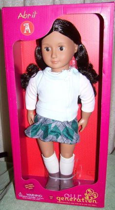 """OUR Generation ABRIL 18"""" Doll New - CAD $57.39. Our Generation ABRIL 18"""" Doll New Description New in box. For ages 3 years old and up. Comes from a smoke- free home. We combine shipping with most of our other auctions. Shipping is $13.50. Thank you for stopping by~!~!~ Images sell! Get Supersized Images & Free Image HostingCreate your brand with Auctiva's Customizable Templates. The complete eBay Selling Solution. Track Page Views WithAuctiva's FREE Counter 372204106650"""