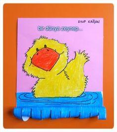Duck craft idea for kids | Crafts and Worksheets for Preschool,Toddler and Kindergarten