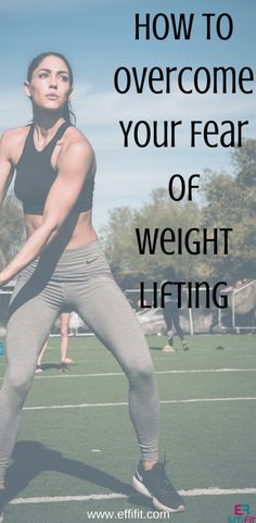 Lifting weights can feel intimidating. Grab the best tips for overcoming your fear and start building up your strength #strengthtraining #fitness #workout