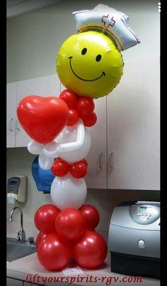 . Balloon Words, Love Balloon, Balloon Ideas, Get Well Balloons, Balloons And More, Balloon Columns, Balloon Arch, Costume Halloween, Ballon Crafts
