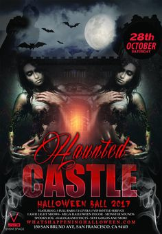 October 28 at 9:00 PM | Haunted Castle Halloween Ball at Venue 550 with DJ Gravity // DJ KC Element playing best of top 40, hip hop, mashup, club hits. Plus Spooky decor, scary fog, erotic GoGos, laser / lights effect, 3D Hologram Projection, outdoor patio, huge dance floor, Vegas style VIP booths, 3 full bars, ton of candy...