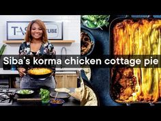 Korma chicken cottage pie | Woolworths TASTE Magazine - YouTube Chicken Cottage, Cottage Pie, Easy Baked Potato, Malva Pudding, Stew And Dumplings, Oxtail Stew, Great Recipes, Favorite Recipes
