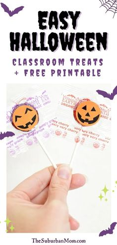 It's back to school season and the Halloween rolled into one! Give your preschooler an exciting and festive craft idea. Super fun and unique, this preschooler craft is sooo cute. Check out the blog for more details on how to make these Easy Halloween Classroom Treats! They comes with free printables as well. This easy DIY craft will surely brighten up your kids day! With a choice of an edible Halloween treat or a more sensory activity experience, you can take your pick! #halloweencraftideas Halloween Crafts For Kids, Easy Halloween, Holidays Halloween, Halloween Treats, Festive Crafts, Easy Diy Crafts, Party Activities, Sensory Activities, Preschool Crafts