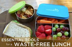 Essential Gear For a Healthy Waste-Free Lunch | MightyNest    http://mightynest.com/learn/getting-started/waste-free-lunch-guides/essential-gear-for-a-healthy-waste-free-lunch#